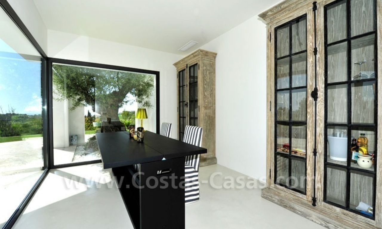 Exclusive modern villa for sale in the area of Marbella – Benahavis 13