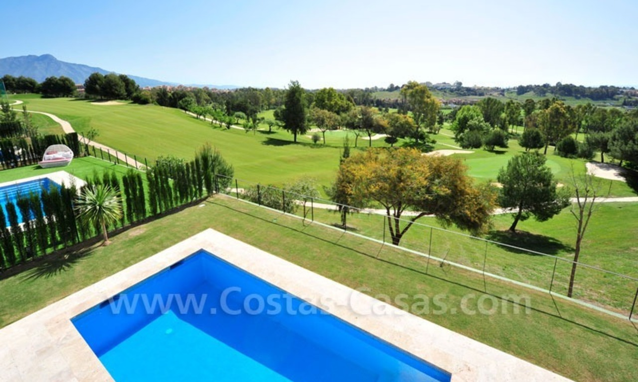 Exclusive modern villa for sale in the area of Marbella – Benahavis 21