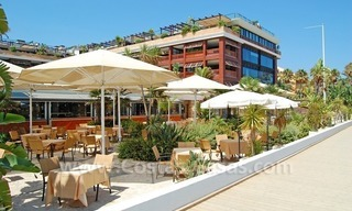 Beachfront hotel apartment for sale in Puerto Banús – Marbella 0