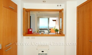 Exclusive modern andalusian styled townhouses for sale close to East Marbella at the Costa del Sol 16