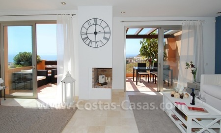 Exclusive modern andalusian styled townhouses for sale close to East Marbella at the Costa del Sol 10
