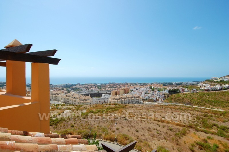 Exclusive modern andalusian styled townhouses for sale close to East Marbella at the Costa del Sol 6