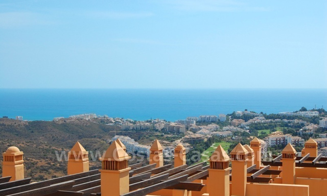 Exclusive modern andalusian styled townhouses for sale close to East Marbella at the Costa del Sol 9