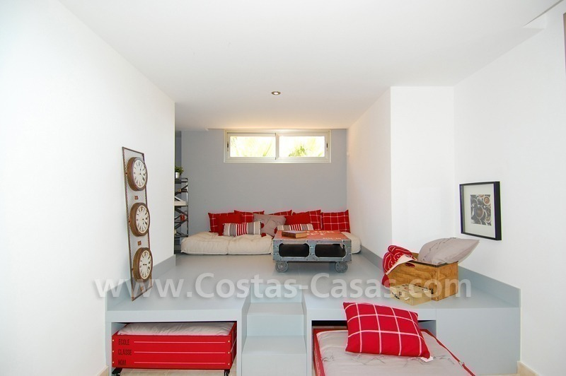 Exclusive modern andalusian styled townhouses for sale close to East Marbella at the Costa del Sol 27