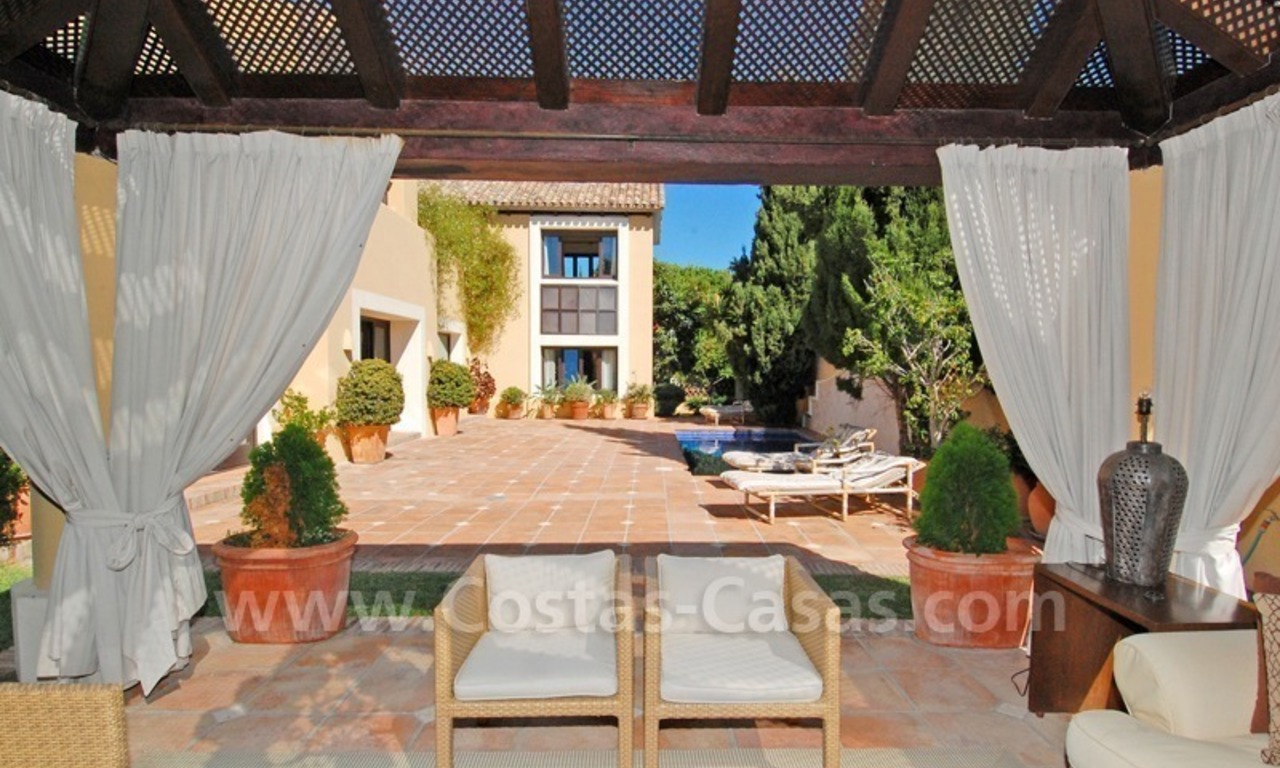 Luxury villa to buy near San Pedro in Marbella 0