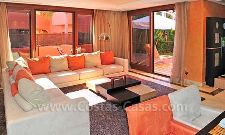 Luxury apartment for sale in an exclusive beachfront complex between Marbella and Estepona centre 13