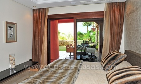 Luxury apartment for sale in an exclusive beachfront complex between Marbella and Estepona centre 21
