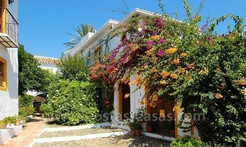 Townhouses for sale in an pueblo style Andalucian villages in Marbella