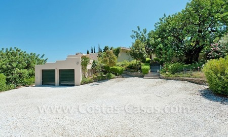 Cozy rustic styled villa to buy in the area of Marbella - Benahavis 13