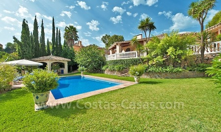 Cozy rustic styled villa to buy in the area of Marbella - Benahavis 1