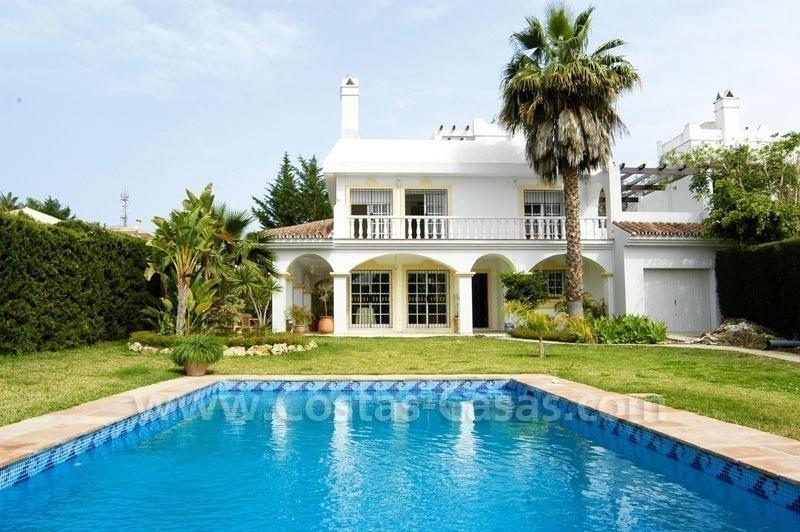 Bargain Andalusian style detached villa to buy in West Marbella