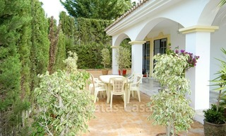 Bargain Andalusian style detached villa to buy in West Marbella 8