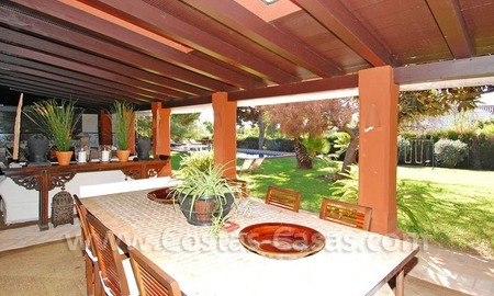 Rustic villa for sale on the Golden Mile in Marbella 6