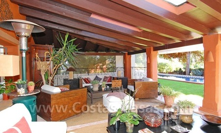 Rustic villa for sale on the Golden Mile in Marbella 9