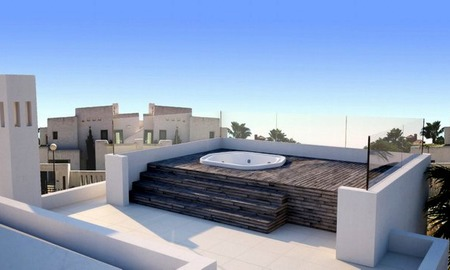 Modern luxury villa for sale in contemporary style on the Golden Mile in Marbella 1