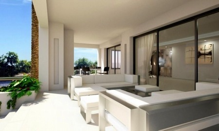 Modern luxury villa for sale in contemporary style on the Golden Mile in Marbella 3