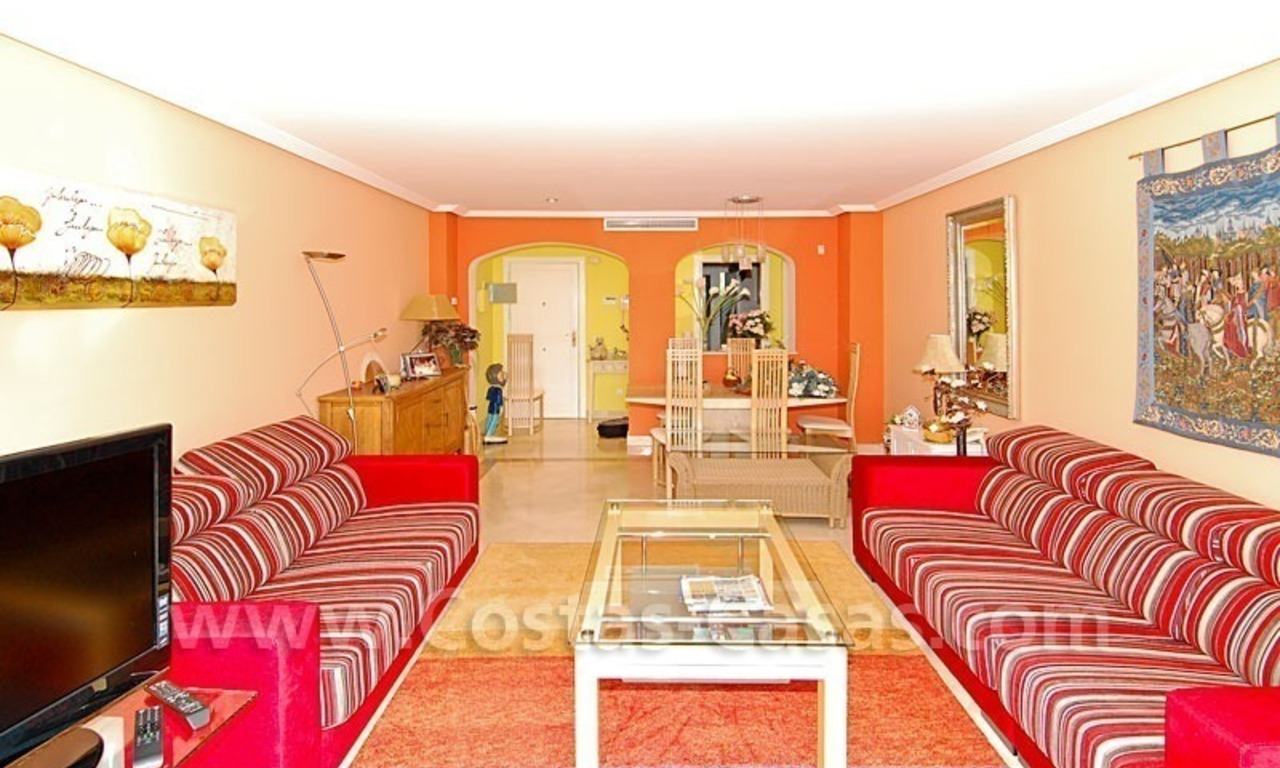 Bargain penthouse apartment for sale in a gated first line golf complex, Marbella – Benahavis 7