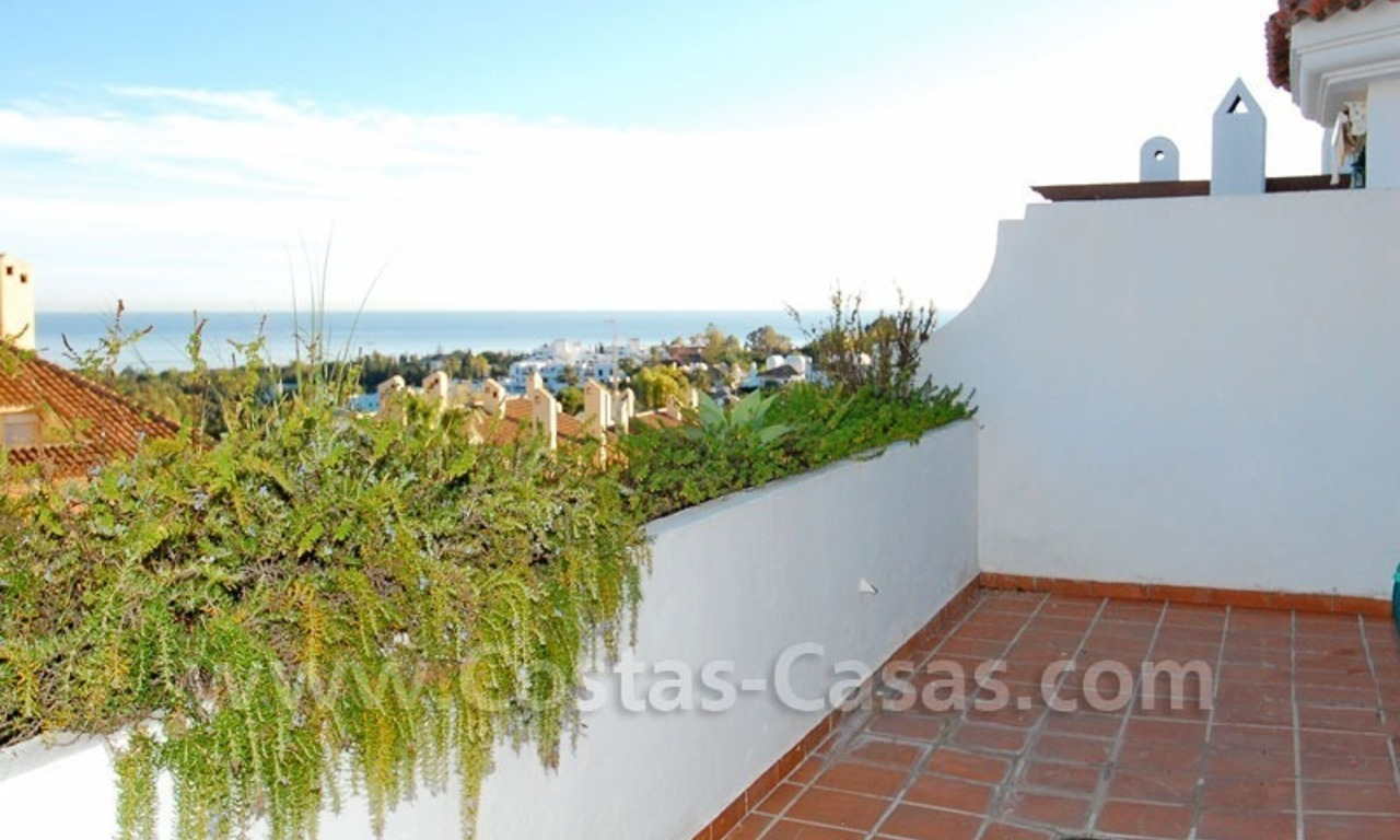 Bargain spacious duplex penthouse for sale on the Golden Mile in Marbella 2