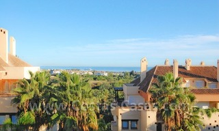 Bargain spacious duplex penthouse for sale on the Golden Mile in Marbella 1