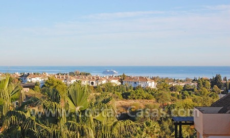 Bargain spacious duplex penthouse for sale on the Golden Mile in Marbella
