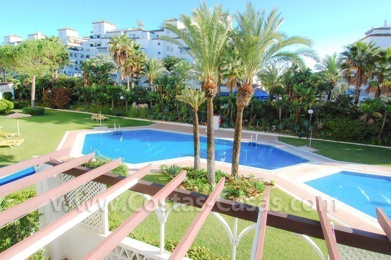 Beachside luxury apartment for sale in Puerto Banus – Marbella 0