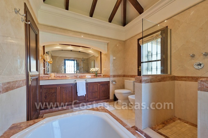 Luxury villa for sale in an exclusive gated golf community in Marbella – Benahavis 13