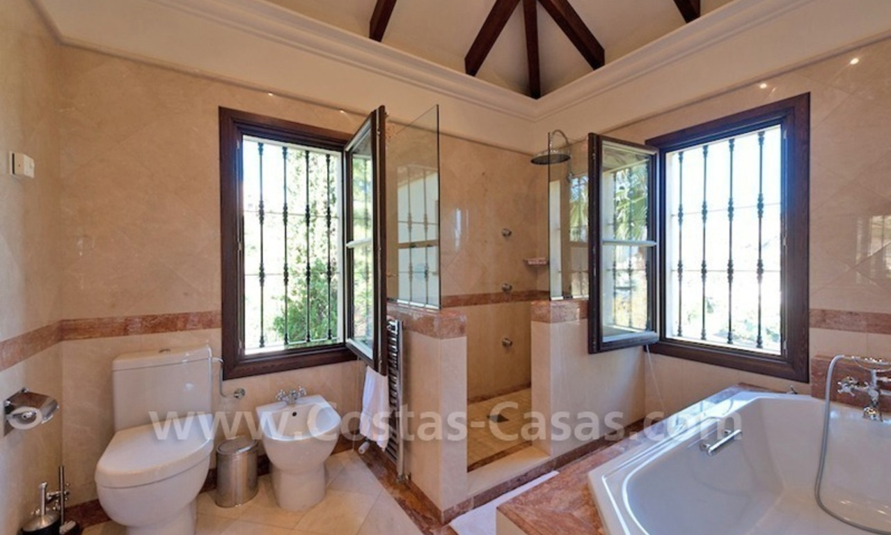 Luxury villa for sale in an exclusive gated golf community in Marbella – Benahavis 14