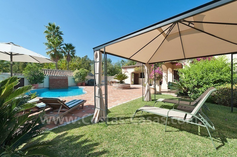 Luxury villa for sale in an exclusive gated golf community in Marbella – Benahavis 2