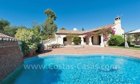Luxury villa for sale in an exclusive gated golf community in Marbella – Benahavis