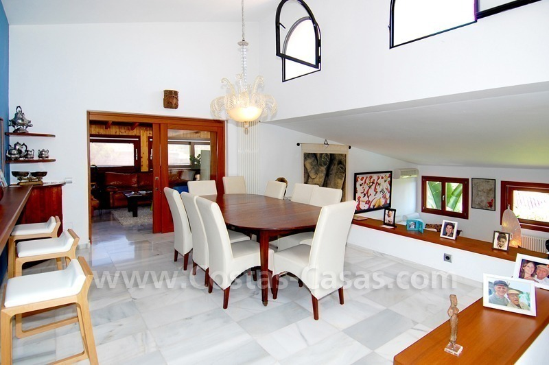 Villa for sale in an up-market area of Nueva Andalucía, Marbella 17