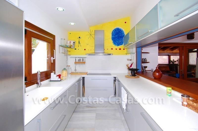 Villa for sale in an up-market area of Nueva Andalucía, Marbella 19