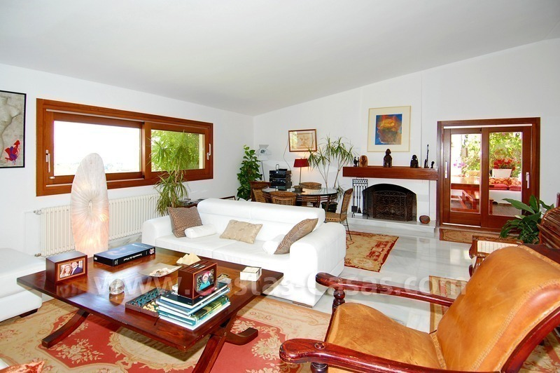 Villa for sale in an up-market area of Nueva Andalucía, Marbella 12