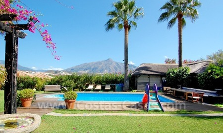 Villa for sale in an up-market area of Nueva Andalucía, Marbella 2