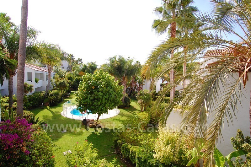 Beachfront townhouse for sale in Marbella