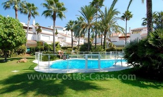 Frontline beach townhouse for sale in Marbella east 4