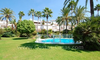 Frontline beach townhouse for sale in Marbella east 5