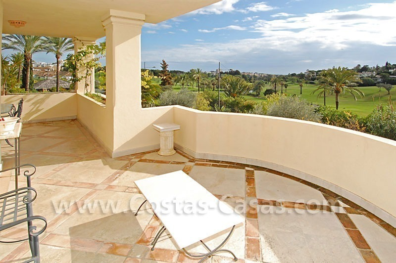 Spacious luxury apartment for sale in Nueva Andalucia, Marbella