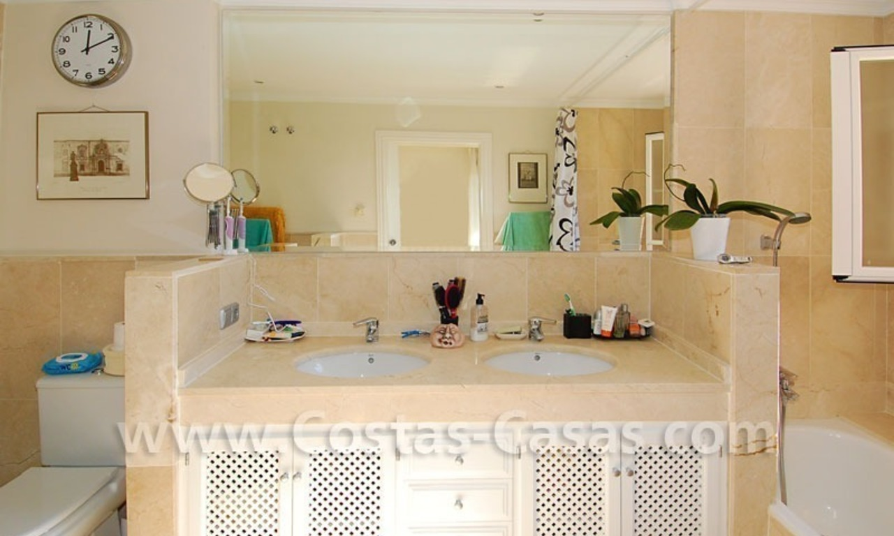 Modern andalusian styled 4 bed-roomed duplex penthouse for sale, Benahavis – Marbella - Estepona 16