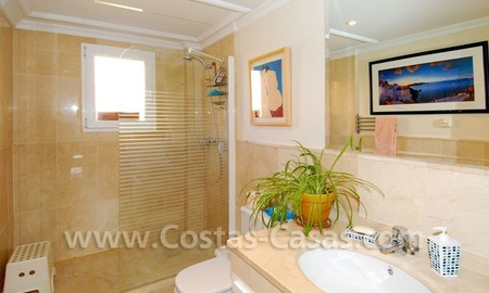 Modern andalusian styled 4 bed-roomed duplex penthouse for sale, Benahavis – Marbella - Estepona 18