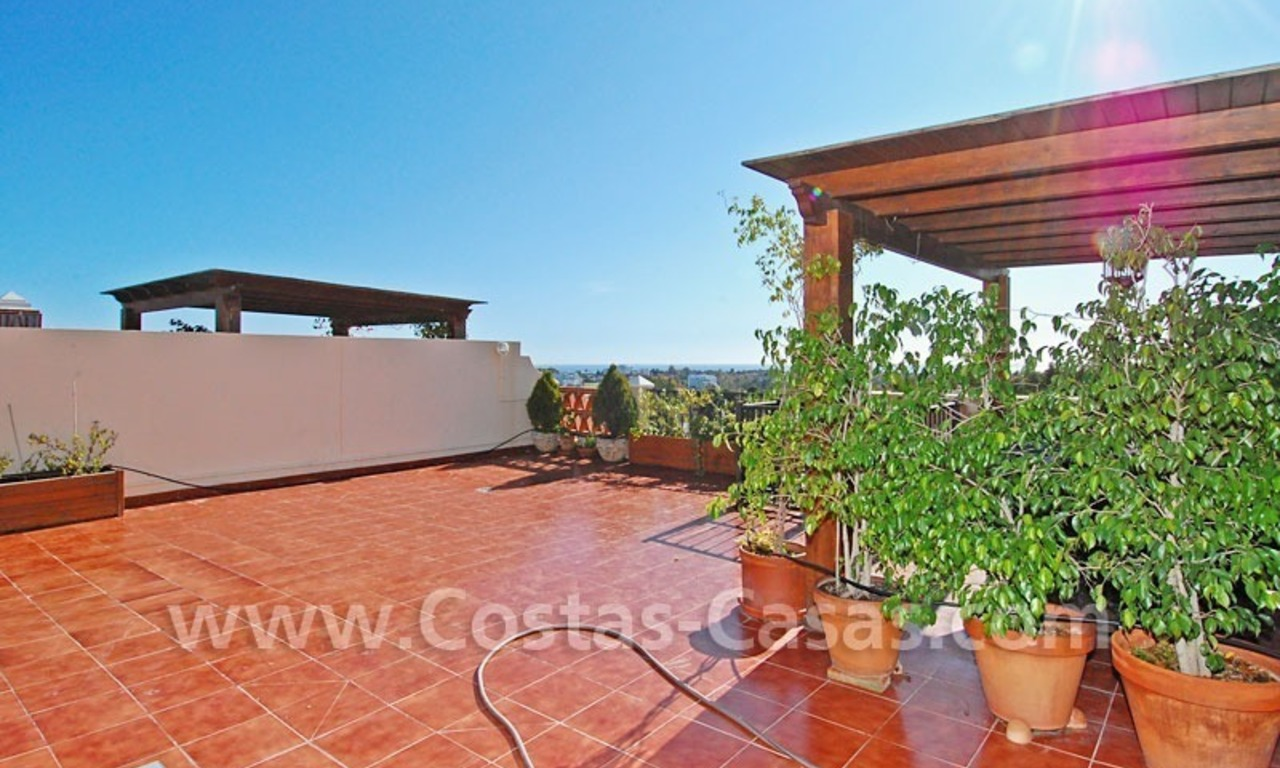 Modern andalusian styled 4 bed-roomed duplex penthouse for sale, Benahavis – Marbella - Estepona 4
