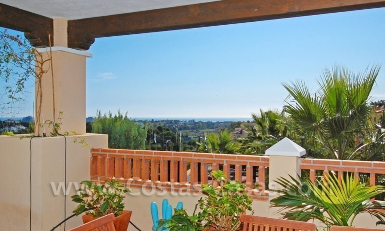 Modern andalusian styled 4 bed-roomed duplex penthouse for sale, Benahavis – Marbella - Estepona 1