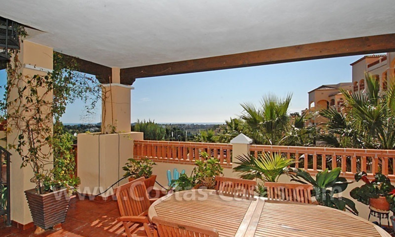 Modern andalusian styled 4 bed-roomed duplex penthouse for sale, Benahavis – Marbella - Estepona 0