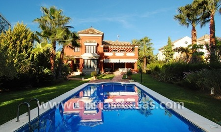 Beachside modern Spanish style villa to buy in Marbella East. 7
