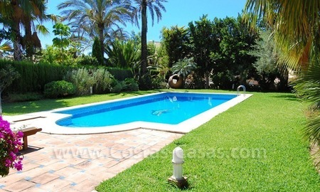 Beachside modern Spanish style villa to buy in Marbella East. 3