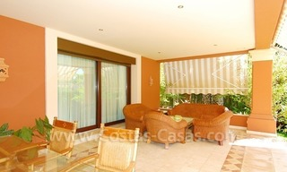 Beachside modern Spanish style villa to buy in Marbella East. 6