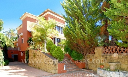 Beachside modern Spanish style villa to buy in Marbella East. 2