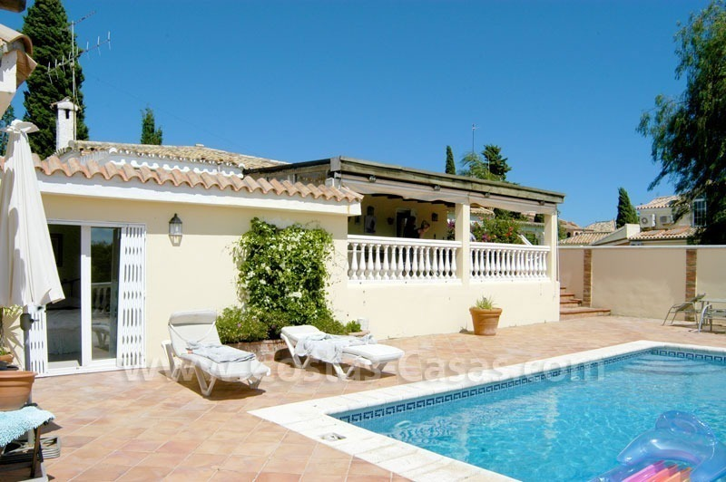 Bargain renovated detached villa for sale in Marbella 5