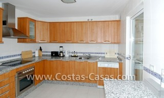 First line beach apartment for sale in Frontline beach gated complex at San Pedro te Marbella 8