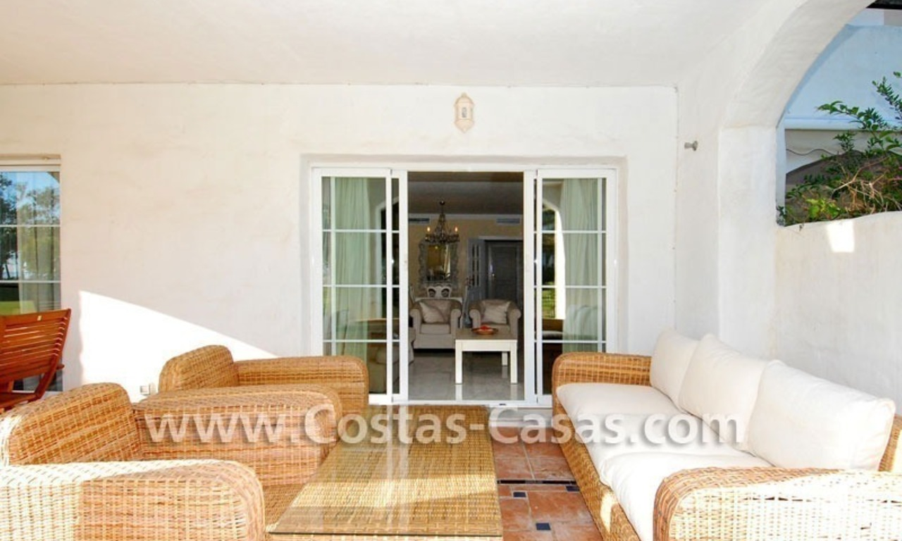 First line beach apartment for sale in Frontline beach gated complex at San Pedro te Marbella 4