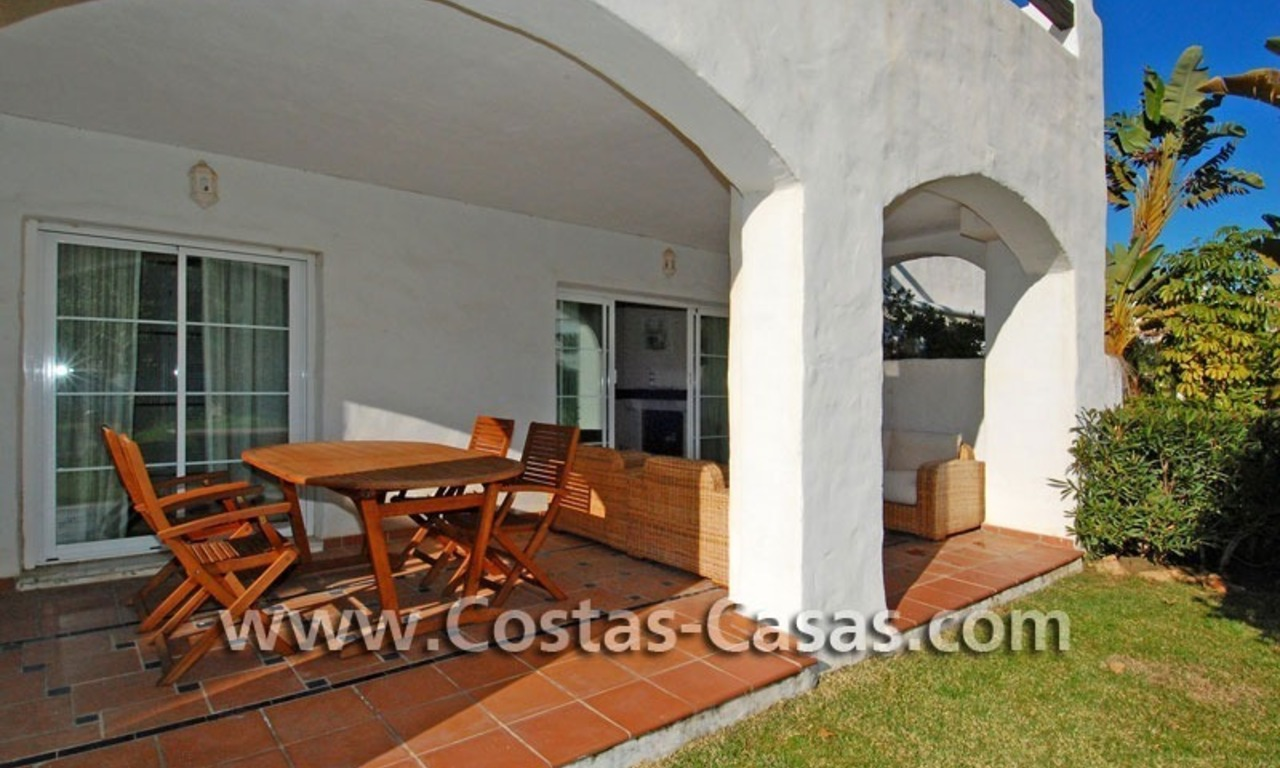 First line beach apartment for sale in Frontline beach gated complex at San Pedro te Marbella 5
